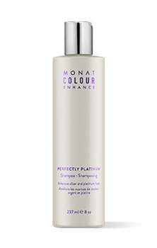 Color enhance platinum shampoo